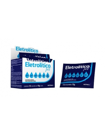 ELETROLITICO PET 10X10G