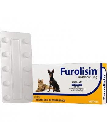 FUROLISIN 10MG 10 COMP