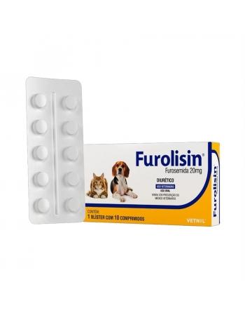 FUROLISIN 20MG 10 COMP