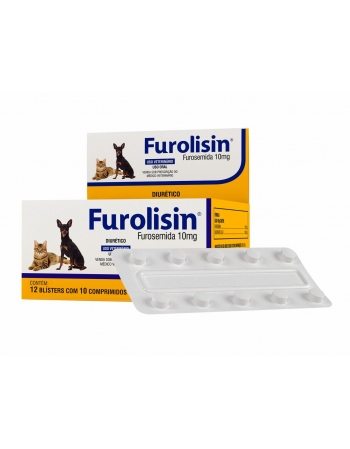 FUROLISIN 10MG 120 COMP