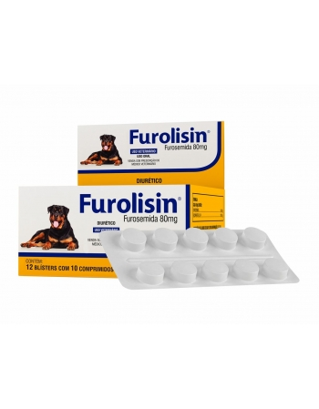 FUROLISIN 80MG 120 COMP