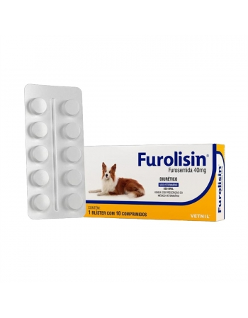 FUROLISIN 40MG 10 COMP