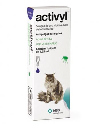 ACTIVYL GATOS MENOR 4 KG (0,51 ML)