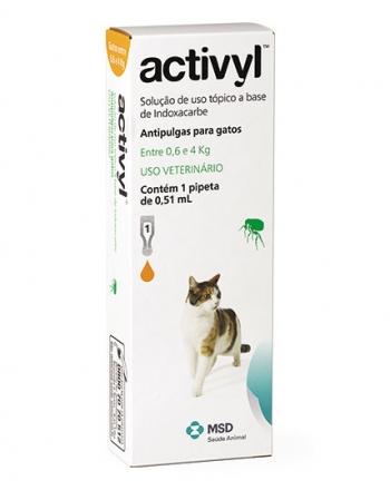 ACTIVYL GATOS MAIOR 4 KG (1,03 ML)