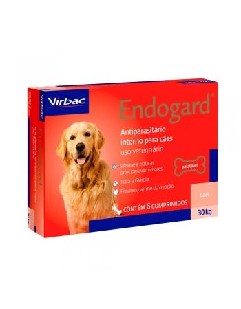 ENDOGARD 30 KG C/ 6 COMPRIMIDOS