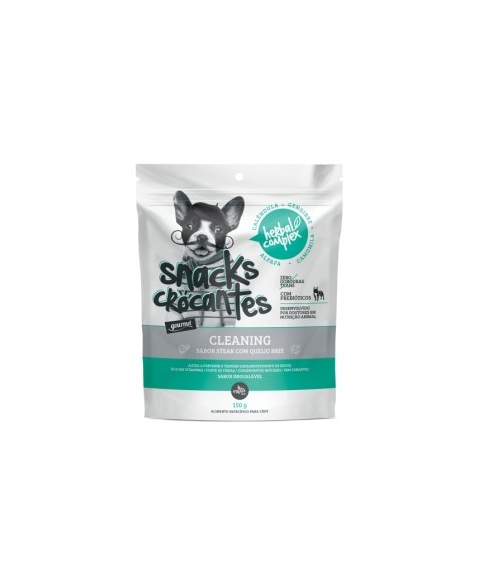 SNACK CROC HERBAL COMPLEX CLEANING 150G