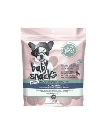 BABY SNACKS - BISCOITOS DE CORDEIRO 120G