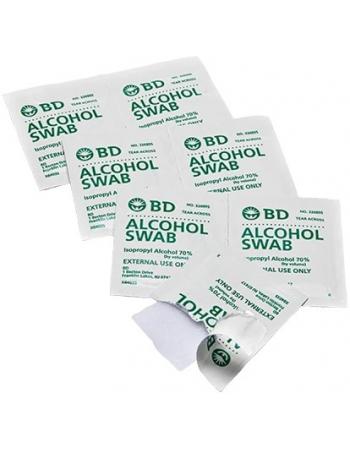 ALMOFADA BD ALCOHOL SWABS EMBEB C/ALCOOL